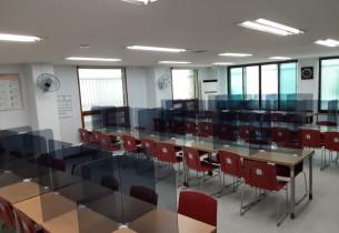 [무료급식 지원사업] 사랑의식당 아크릴 가림막 설치