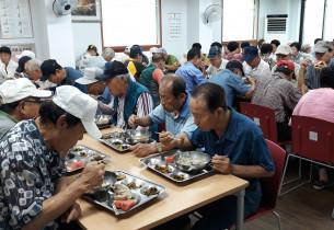 [무료급식지원사업] 말복 영양닭죽 제공